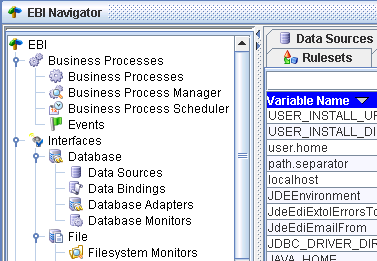 EXTOL Business Integrator (EBI) 2.6 Examples