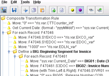 EXTOL Business Integrator (EBI) 2.6 Tips